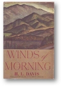 Winds of Morning by H L Davis, 1952