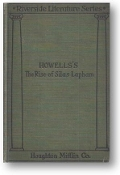 Howell's The Rise of Silas Lapham, Riverside Literature Series, 1912