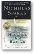 Message in a Bottle by Nicholas Sparks, 1999