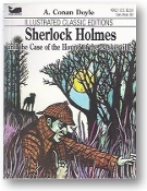 Sherlock Holmes and the Case of the Hounds of Baskervilles by Arthur Conan Doyle, 1977
