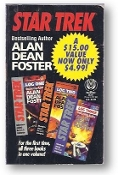 Star Trek: Log One, Log Two and Log Three, for the first time, all three books in one volume! by Allen Dean Foster, 1993