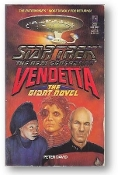 Star Trek Next Generation, the Vendetta, the Giant Novel by Peter David, 1991