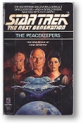 Star Trek Next Generation, the Peacekeepers, #2 by Gene DeWeese, 1988
