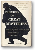 A Treasury of Great Mysteries by Haycraft & Beecroft, Volume 2, 1957
