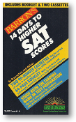 14 Days to Higher SAT Scores (not including the two cassettes as originally issued) by Samuel C. Brownstein & Mitchel Weiner, 1986