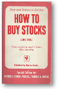 How to Buy Stocks by Louis Engel, 1957