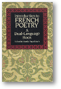 Introduction to French Poetry, a dual language book by Stanley Appelbaum, 1990