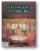 Old House Interiors, Premiere Issue, Spring 1995